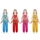Children Belly Dance Costumes Girls Kids Festival Party Fancy Costume Bollywood