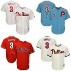 Brand New Philadelphia Phillies #3 Bryce Harper Jersey Multiple Colors Available on Ebay