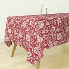 Tablecloth Prototype Provencal 19Th Century Christmas Festive Floral Cotton Sateen