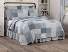 SAWYER MILL BLUE QUILT -choose size & accessories-Farmhouse Bedding VHC Brands image