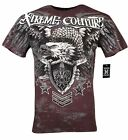 XTREME COUTURE by AFFLICTION Men T-Shirt NORMANDY Tatto Biker MMA GYM S-2X $40 image