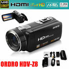 FULL HD 1080P 24MP LCD 16X ZOOM Digital Video DV Camera Touch Screen Camcorder