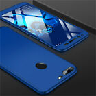 360 Full Case Cover + Tempered Glass For Huawei Honor 8X 7X 7S 7A 9 10 Lite Play