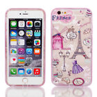 Soft Plastic Case Cover w Bumper Frame for Apple iPhone 6 Plus 5.5""