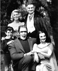 149187 The Munsters Family Black and White Decor Wall Poster Print UK