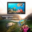 7 Inch 30m Underwater Fishing Camera HD IR Infrared LED Waterproof Fish Finder