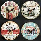 Creative Retro DIY Wall Clock Frameless Analog Clock Home Office Decor OK 02