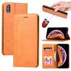 Man Macally Fabric Card Wallet Stand Strong Magnetic Leather Flip Case Fr iPhone