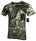 XTREME COUTURE by AFFLICTION Men T-Shirt DARK HORSE Biker Biker MMA GYM S-4X$40 image