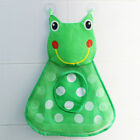 Kids Baby Shower Bath Toys Storage Bag Mesh Organiser Net Suction Cup Durable #