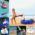 Inflatable Mattress Swimming Pool Island Inflatable Flamingo Water Bed Unicorn