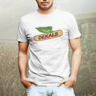 Dekalb Corn Seed Farmer Farm Wear Vintage Retro Logo Mens Tee T-Shirt White image