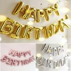 New Happy Birthday Self Inflating Balloon Banner 16' Bunting Party Home Decor Us