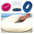 Memory Sponge Foam Ring Cushion Donut Pregnancy Pillow +  Car Chair Office Bed