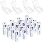 EBL Lot AA AAA Rechargeable NI-MH - Non-Rechargeable Lithium Batteries   Box USA