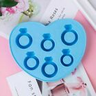 Novelty Diamond Ring Rubber Freezer Ice Tray Chocolate Silicone Mold Magic