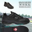 Skechers Soft Stride Safety Shoes Mens Memory Foam Heel Relaxed Fit Work Trainer