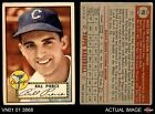 1952 Topps #98 Bill Pierce White Sox GOOD