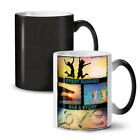 Summer Sun Story NEW Colour Changing Tea Coffee Mug 11 oz | Wellcoda