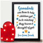 Birthday Gifts for Grandad PERSONALISED Gifts for Grandad Grandpa Gramps Gift
