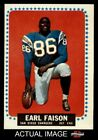 1964 Topps #157 Earl Faison Chargers EX/MT $4.0 USD on eBay