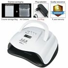 UV LED Gel Polish Nail Dryer Curing Lamp With Timer Bottom 48W 54W LCD Display
