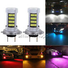 NEW 2x LED Bulbs Conversion Kit Fog Lights Bright HID White Blue Yellow Purple