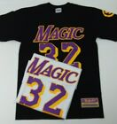 """Streetwise """" Magic """" Magic Johnson Lakers Los Angeles T-shirt/32/Made in USA(d) on eBay"""