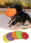 Durable Rubber Puppy Frisbee Tough Rubber Training Frisbee Strong Clean Chew Toy