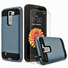 For LG K7 Phone Case, Shockproof Cover+Screen Protector