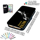Elvis Presley Grace Land Memphis Guitar - Leather Flip Wallet Phone Case Cover