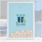 PERSONALISED Christening Guest Book Boy - Baptism Naming Day Dinosaur Guestbook