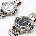 Casual metal round watch