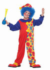 Infant Toddler Colorful Clown Circus Costume