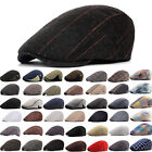 Mens Ivy Hat Newsboy Gatsby Cap Golf Driving Flat Cabbie Beret Winter Driver Hat