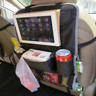 Car Vehicle Passenger Rear Back Seat Organiser Organizer iPad Mount Drink Holder
