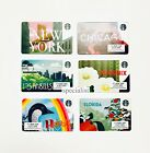 2019 STARBUCKS US PICK YOUR City Card Florida Hawaii NY Phoenix LA Chicago