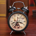 Retro Alarm Clock Number Double Bell Desk Table Digital Clock Home Deco MYI