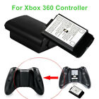 2Pcs AA Battery Holder Plastic Hard Shell Back Cover Case for Xbox 360 Controlle