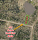 1/3 ACRE POND-FRONTAGE - CONROE TX * RV OK * RIVER ACCESS *- High-Bid Wins
