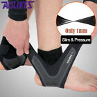 Silm Ankle Support Protection Brace Compression Sleeve Socks Sports Foot Wrap $12.21 USD on eBay