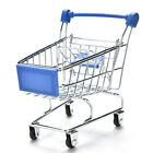1X Dark Miniature Metal Grocery Shopping Cart/ Doll Size/ Home DecorationC!C