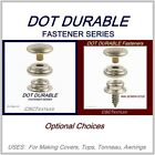DOT-DURABLE *Fasteners* Pack/Lot for Canvas~Tops~Auto ONE*SHIPPING