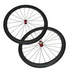 700C Ultra Light Carbon 50mm Depth Wheelset Carbon Tubular Clincher Road Wheels