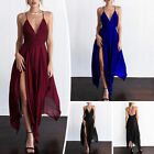 Women Clubwear Sexy Sleeveless Evening Party Cocktail Gown Ball Long Maxi Dress $13.93 USD on eBay