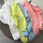 Womens Summer Hooded Thin Sunscreen Jacket Outdoor Beach Sun Protection Cover Up