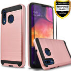 For Samsung Galaxy A10 / A20 / A30 Phone Case Cover, +Tempered Glass Protector
