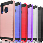 For Samsung Galaxy  A10E A20 A30 A50 Phone Case Cover, +Tempered Glass Protector