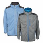 Trespass Mathew Mens Softshell Jacket Hooded Breathable Windproof Hooded Coat