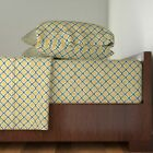 Moroccan Ancient Arabic Persian 100% Cotton Sateen Sheet Set by Roostery image